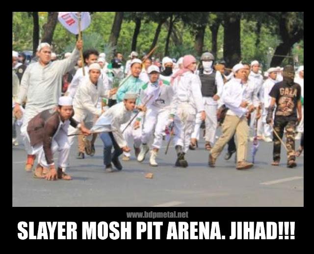 Slayer Mosh Pit Arena. Jihad!!!