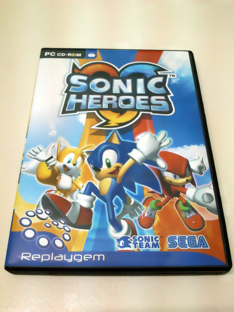 Sonic Heroes Pc Cd Rom Sonic Collectibles Sonic Notes