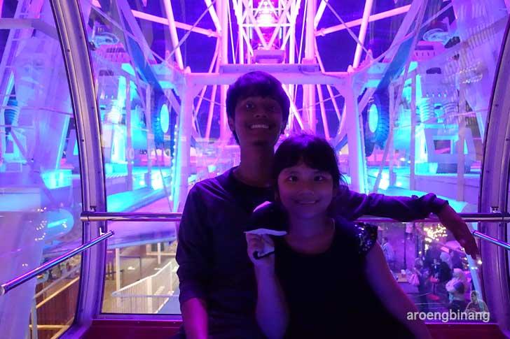 j-sky ferris wheel aeon mall cakung jakarta timur