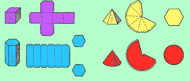 Как склеить геометрические фигуры