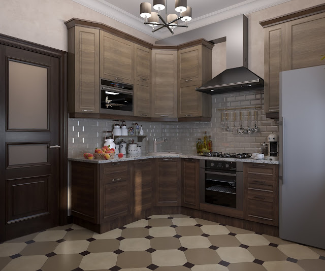 Darya girina interior design for Kitchen design visualiser