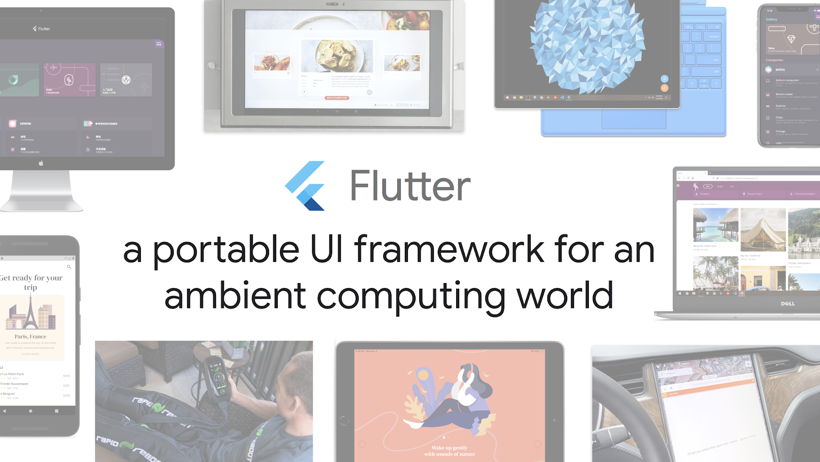 Flutter for ambient computing hero image
