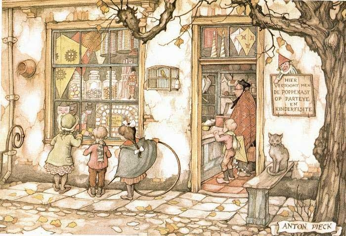 12-Anton-Franciscus Pieck-1895-to-1987-a-life-of-Illustrations-and-Paintings-www-designstack-co