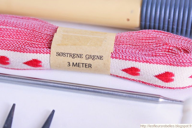 Mercerie ruban décoratif