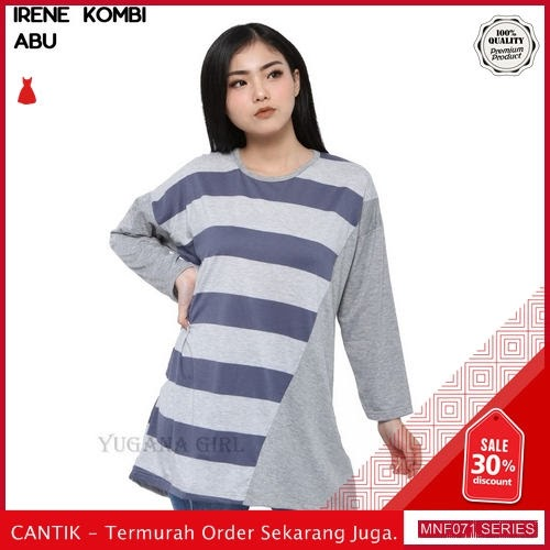 MNF071B113 Baju Muslim Wanita 2019 Kombi Irene Atasan 2019 BMGShop