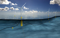 Hywind Pilot Park will become the world's first offshore floating wind farm upon completion in 2017. (Image Credit: Crown Copyright) Click to Enlarge.