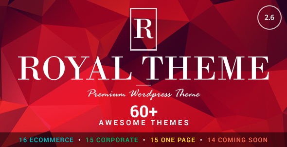 Royal v2.6 - Multi-Purpose Wordpress Theme