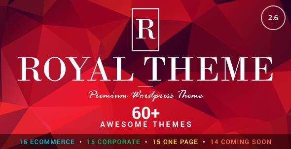 Royal v2.6 - Multi-Purpose Wordpress Theme