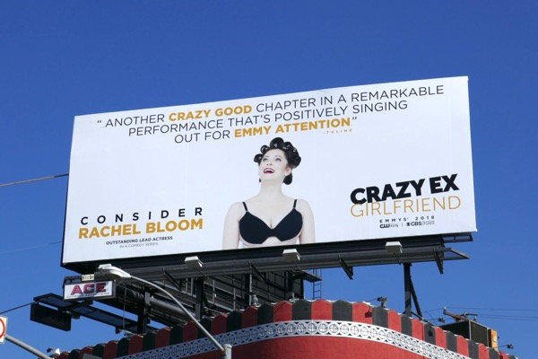 Rachel Bloom Crazy Ex-Girlfriend 2018 Emmy FYC billboard
