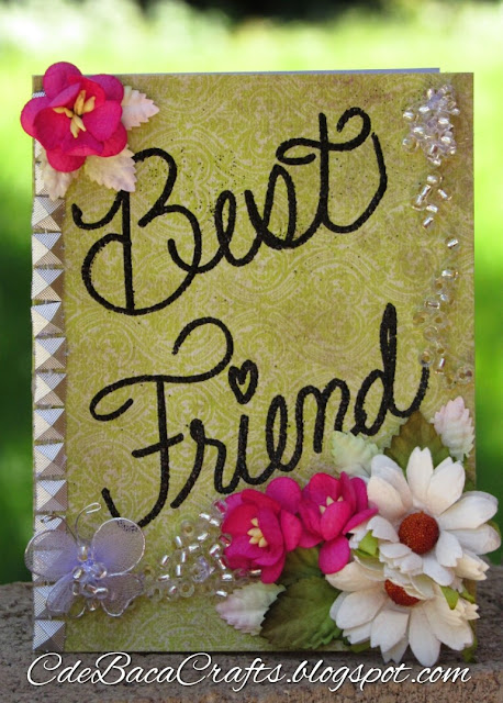 Best Friend Card_CdeBacaCraftsCard