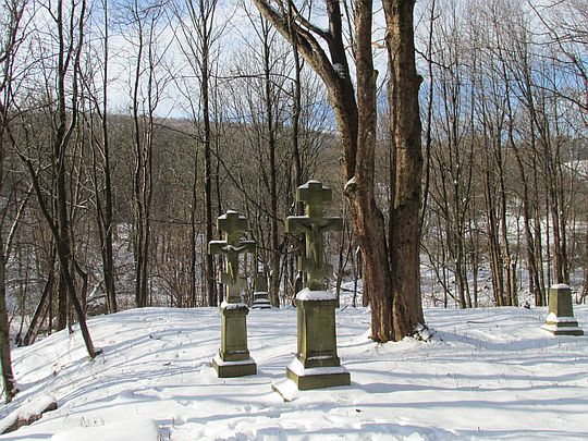 Cmentarz wsi Żydowskie.