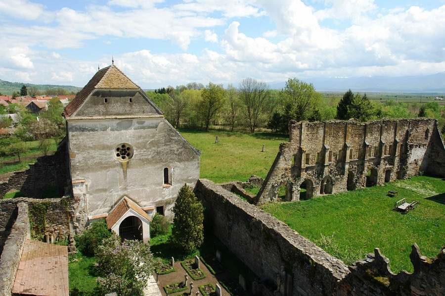 "The Abbey of St. Carta, Romania - A Haunted Abbey on which the Horror Movie ""The Nun"" is based on"
