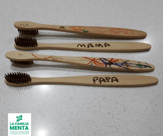 Reduciendo el plástico: cepillos de dientes ecológicos [+ manualidad]