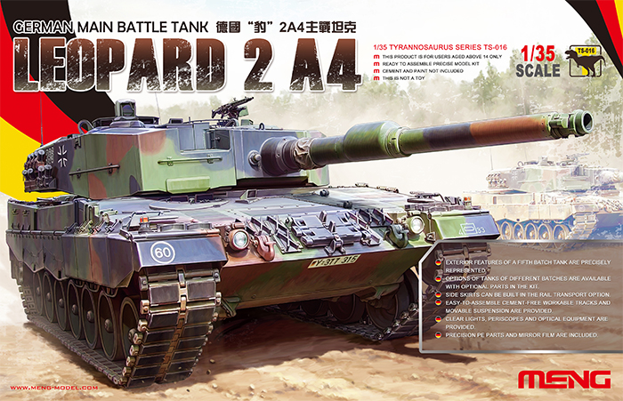 The Modelling News: Preview: Meng's new Leopard 2 is made up
