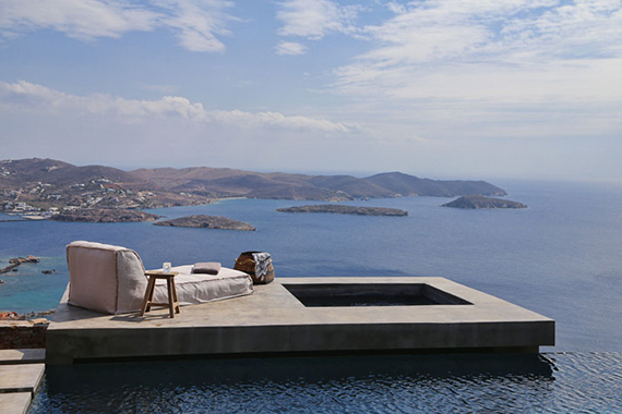 A Pair of Summer Houses on Syros, Greece by Block722 Architects. Image by Ioanna Roufopoulou via Yatzer