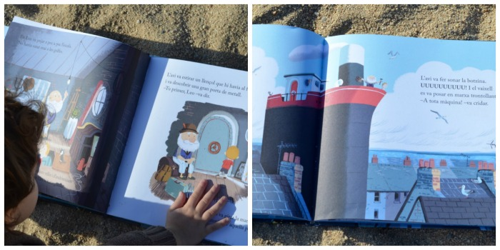 Libro infantil, cuento La isla del abuelo, sobre despedidas y pérdidas