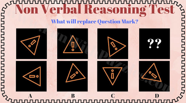 Non verbal reasoning question for kids