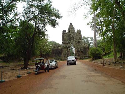 Transporte Camboja e Angkor Wat