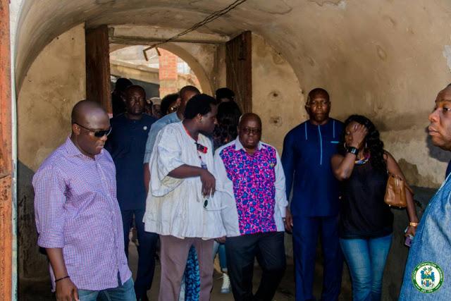"Photos : Akufo-Addo Storms ""Chaley Wote"" Street Art Festival"