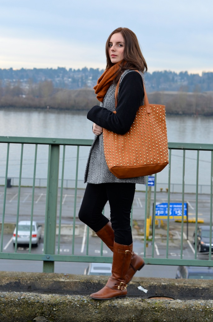 Stylish Outfit for a Cold Winter Day, Vancouver Style Blog, Beauty Blog, Vancouver Beauty Blog, Vancouver Fashion Blog