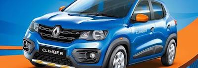 Renault Kwid Climber Blue pics
