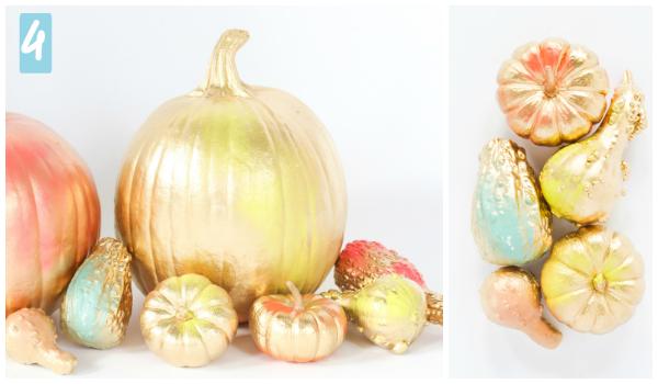 Cómo decorar tu calabaza de 5 formas originales by Habitan2 | Diy con calabazas para Halloween low cost