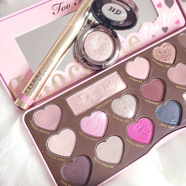 Too Faced Chocolate Bon Bons, By Terry Bubble Glow Ombre Blackstar & Urban Decay Sin