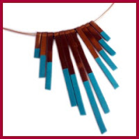 Collar griego con alambre