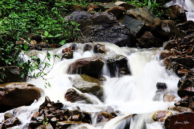 Slow shutter speed shot of a stream
