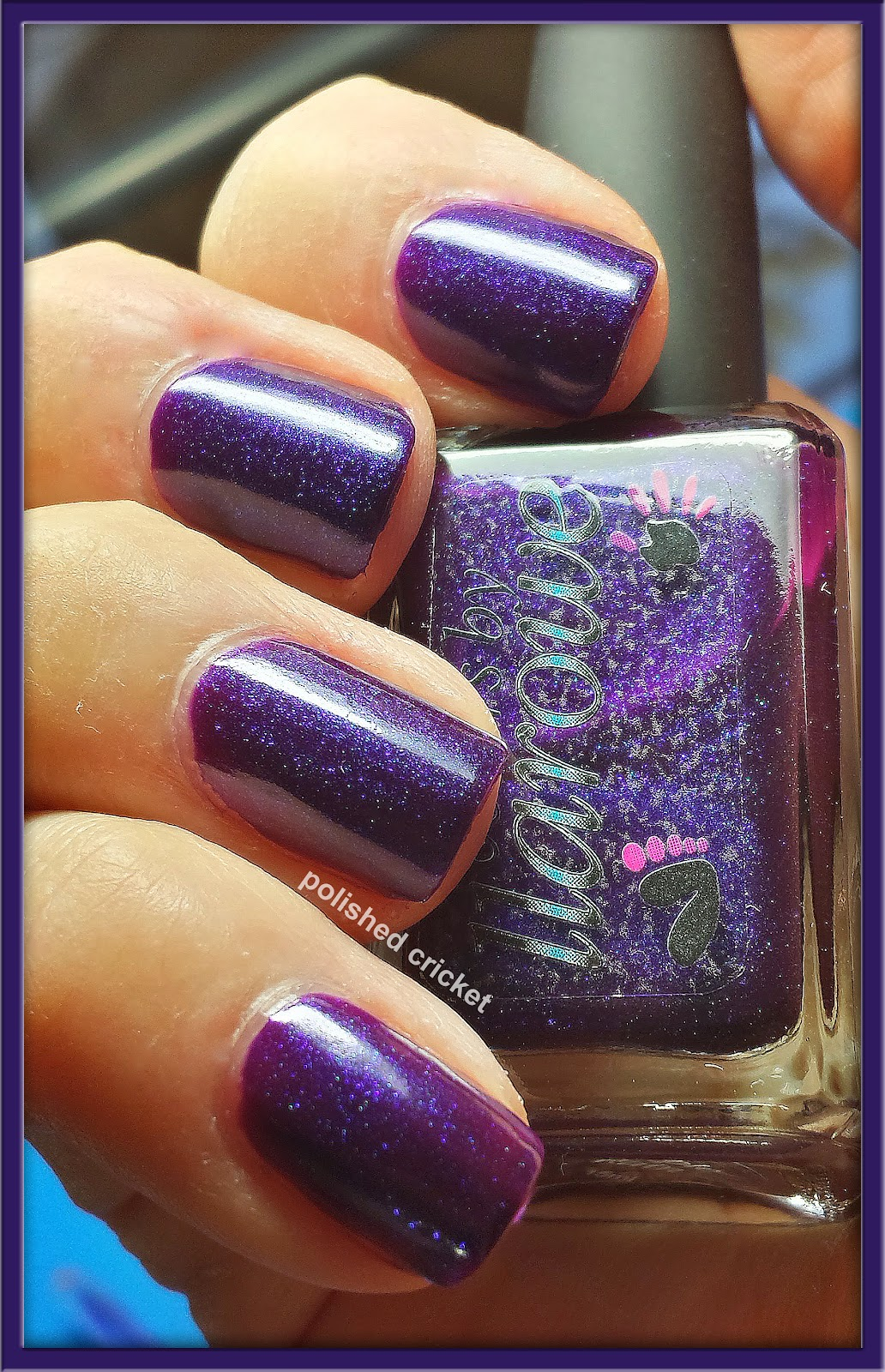 Colors by Llarowe- Purple Rain (Swatches and Review) | The Polished
