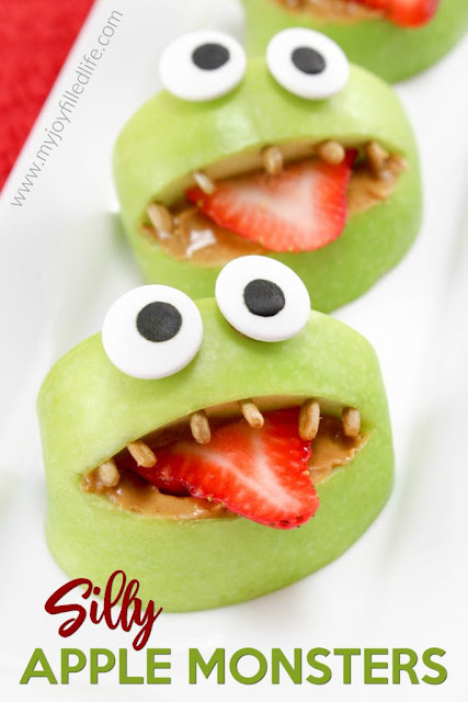 silly apple monsters