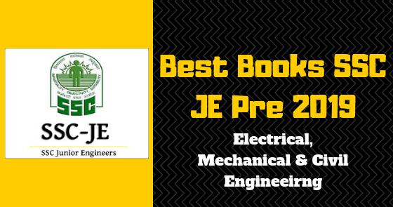 Best Books Ssc Je Pre 2019 Electrical Mechanical Civil