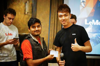 Bangalore witnessed the LeTV's first Le Meet up with fans