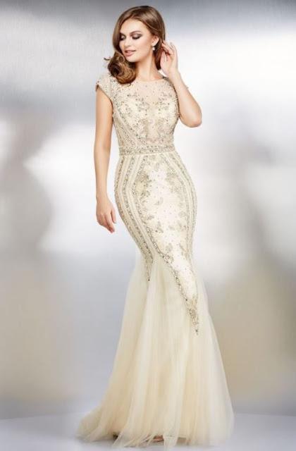 vestido de festa branco off white