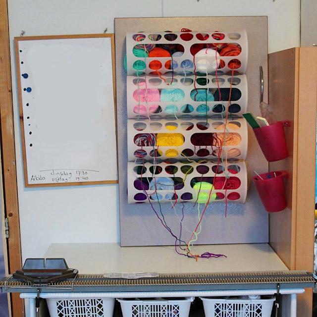 Wool sorted.