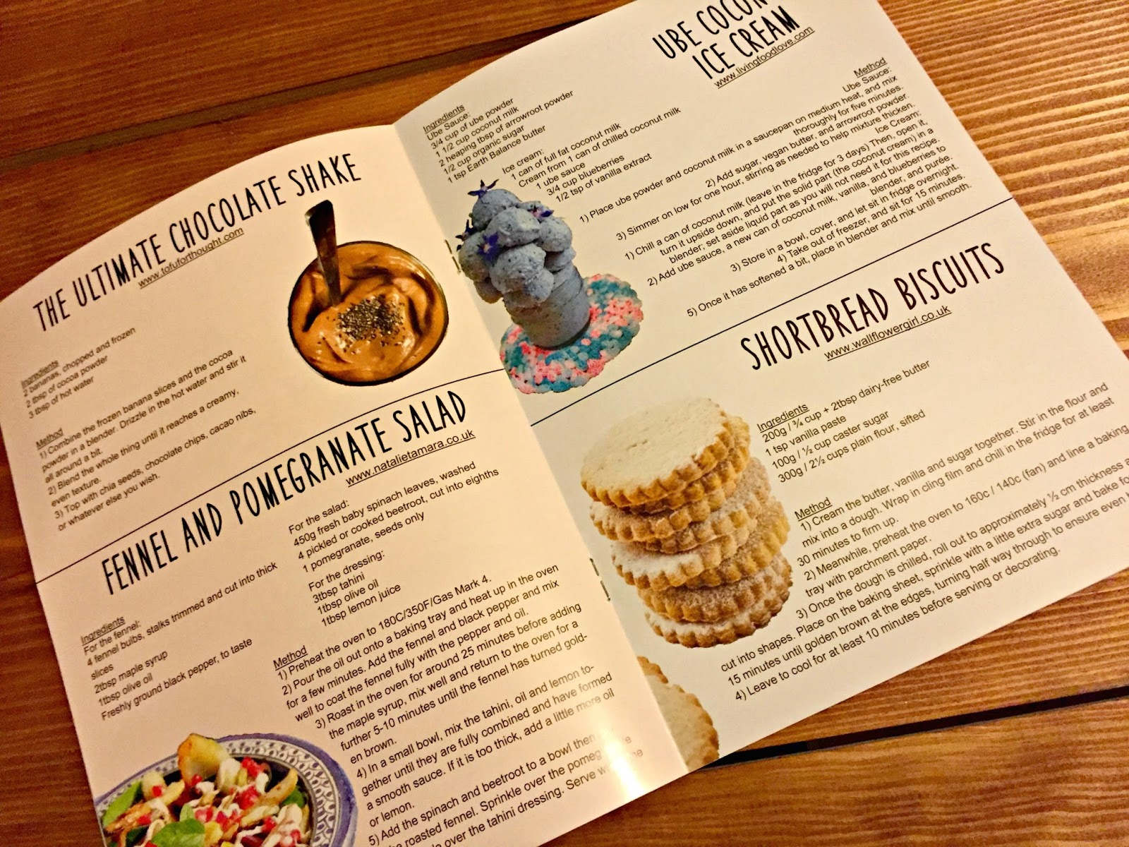 Teen VGN Recipe Book