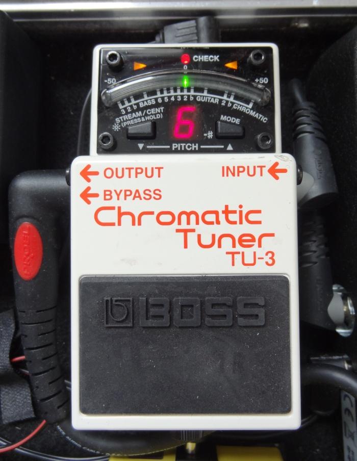 Sprzęt Gitarowy: Boss TU-3