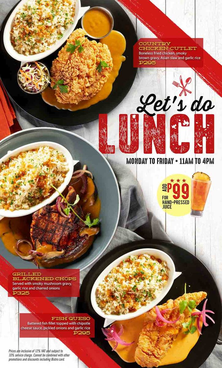 New Year, New Lunch Specials at TGI Fridays - Recycle Bin ...