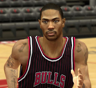 NBA 2K13 Derrick Rose Cyber Face Mod