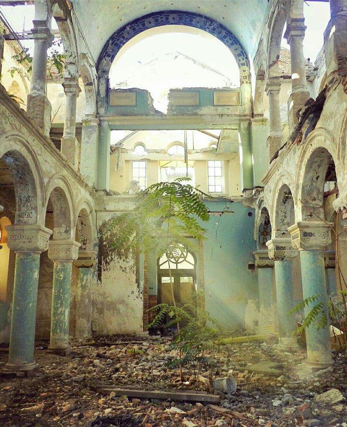 Fotos de lugares abandonados incríveis no instagram