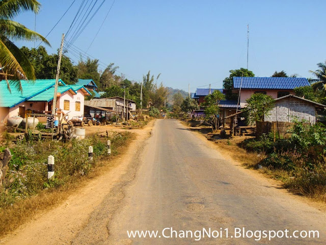 A village in Laos