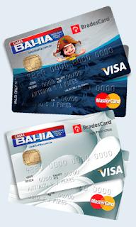 Pedir cartão Casas Bahia pela Internet