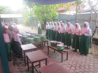 Latihan Pengukuhan dan Perpisahan Kelas 6 MI Al Raudlah