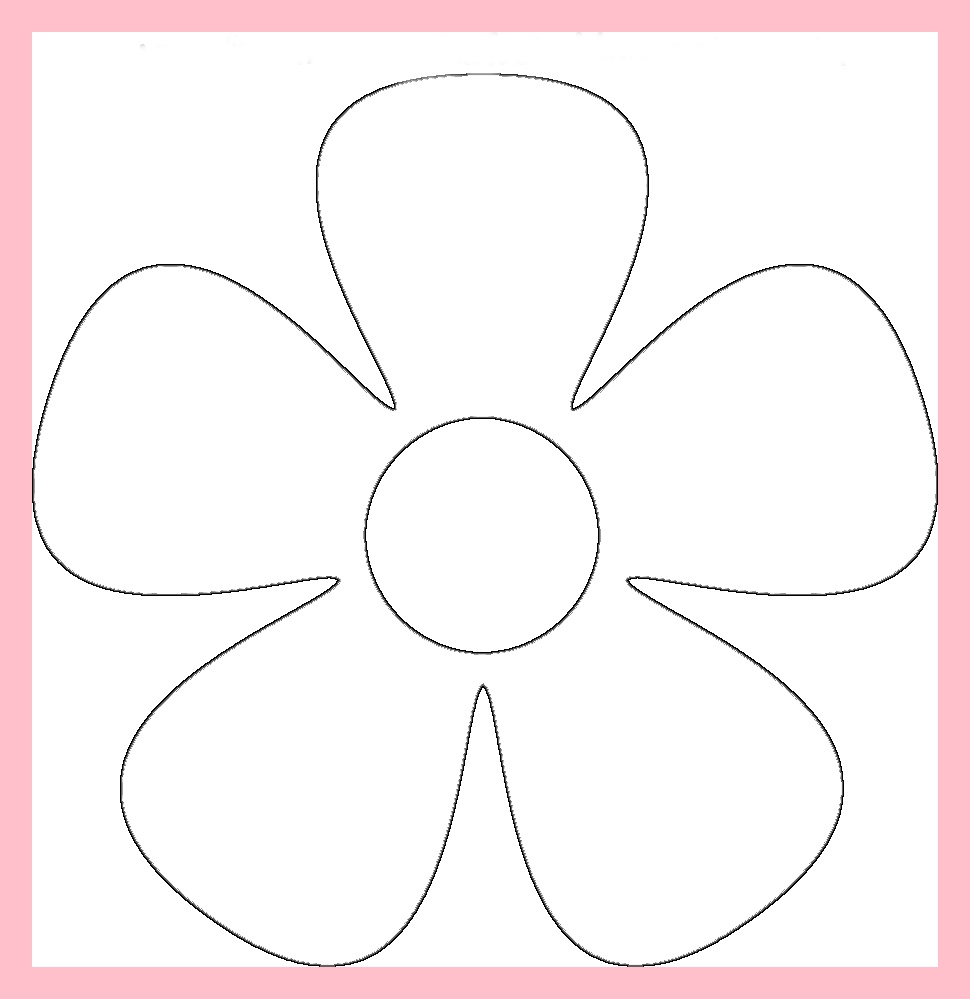 Moldes De Flores En Fomi Para Imprimir The Emoji