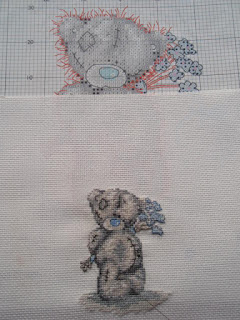 Tatty Teddy and his pattern.