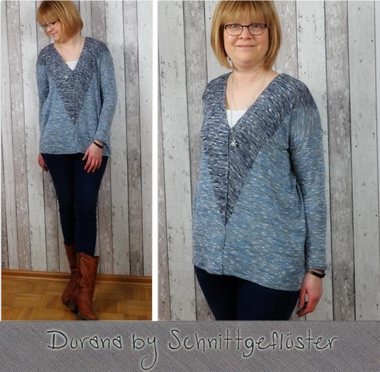 Oversize-Shirt Durana by Schnittgeflüster