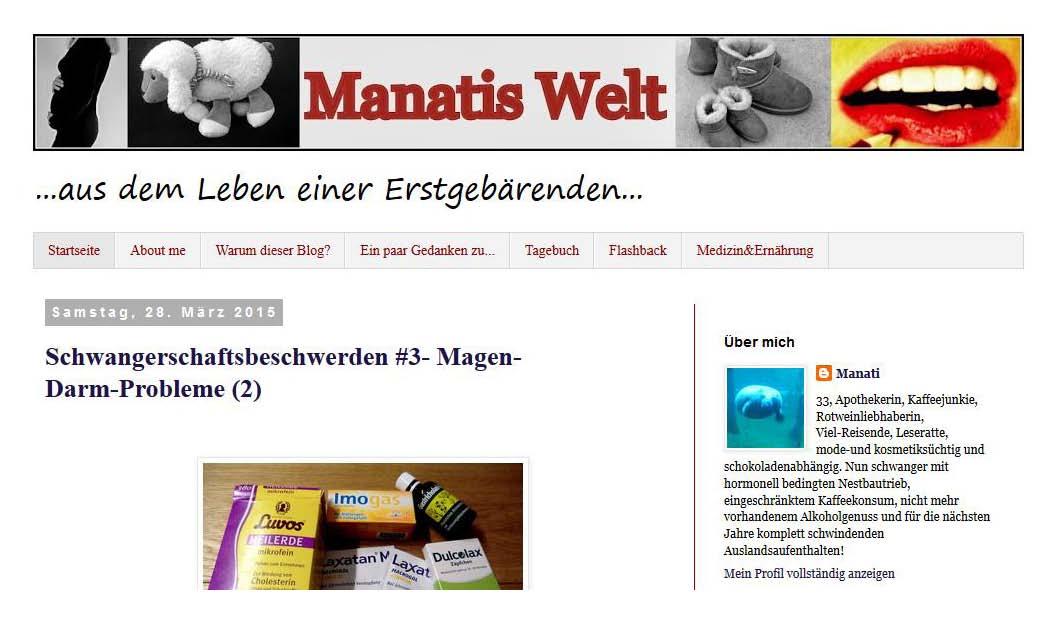 Short Cut Manatis Welt Schwangerschaftsblog