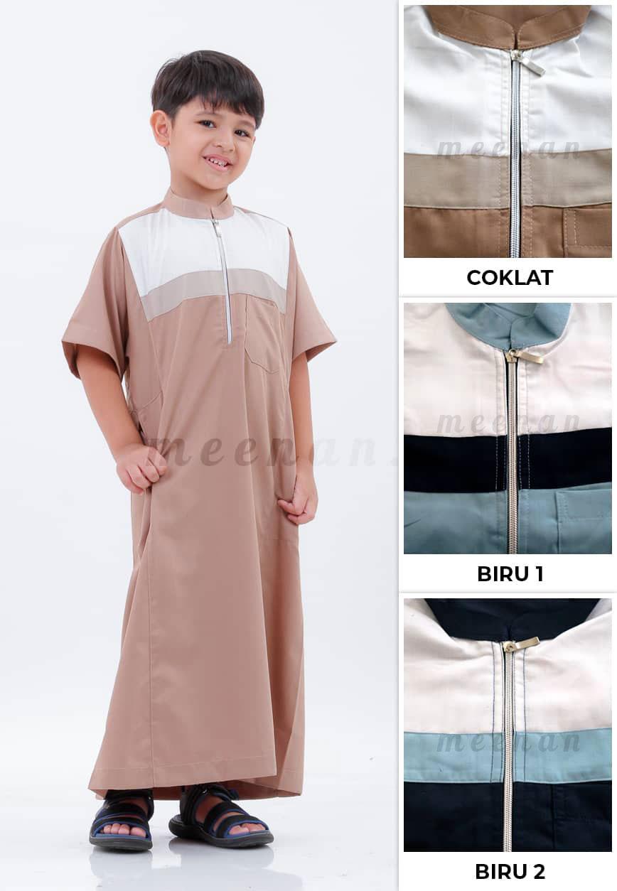 Gamis Zayyid Anak, gamis anak, gamis anak laki laki, gamis lebaran, baju anak, baju lebaran anak, baju koko anak, koko anak.