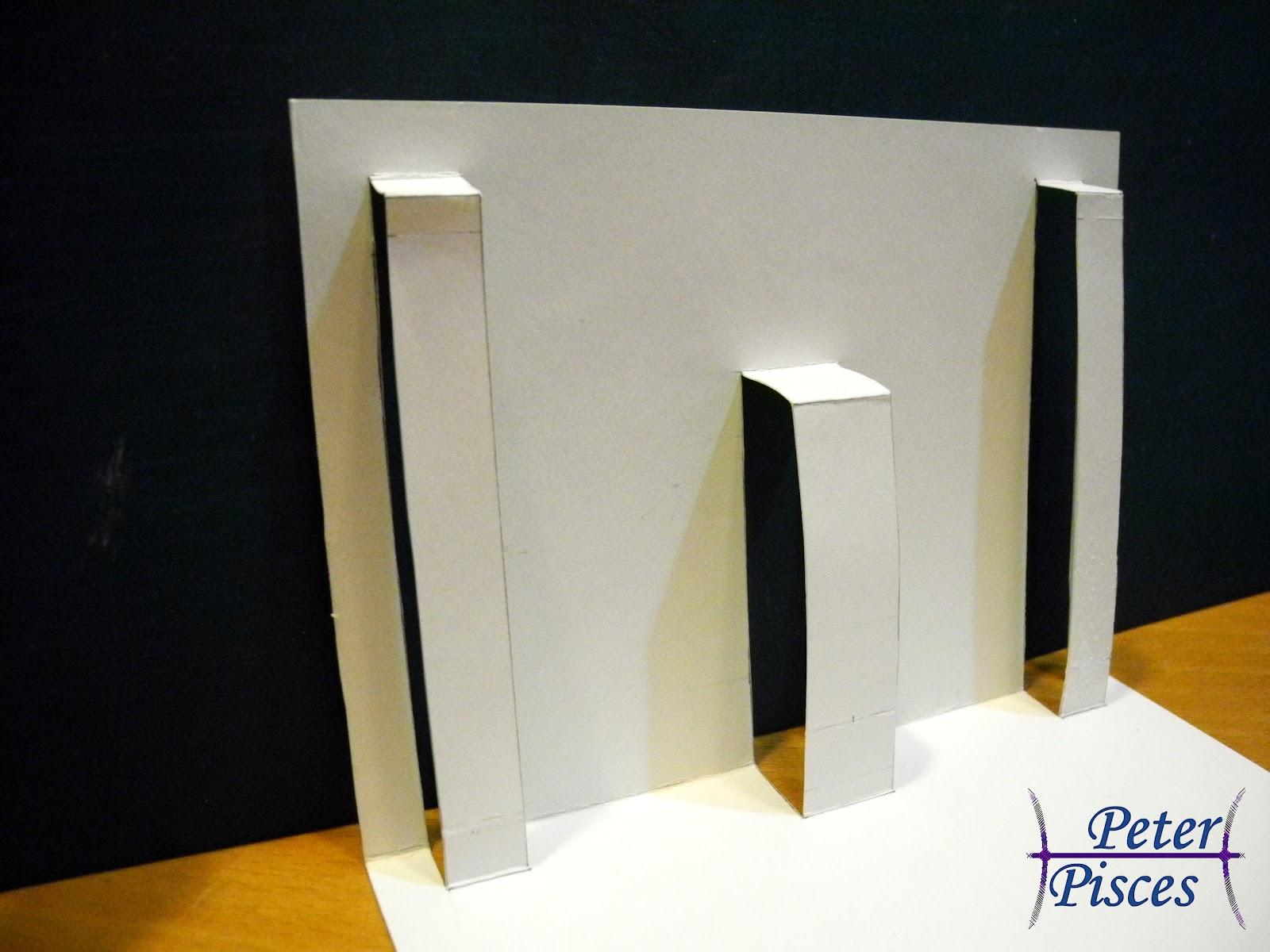 Peter Pisces: 【DIY】立體聖誕卡片-製作教學