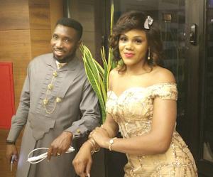 Busola Dakolo  reciprocates as she  celebrates her cute husband, Timi Dakolo on their wedding anniversary